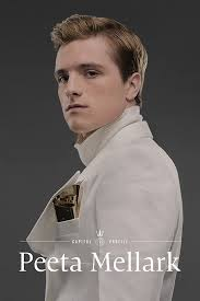 Peeta Mellark वॉलपेपर probably containing a dress shirt, a bathrobe, and a portrait entitled Peeta Mellark