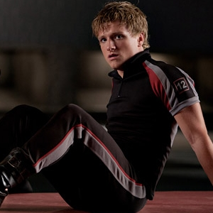 Peeta Mellark वॉलपेपर possibly with a विकेट and a right fielder entitled Peeta Mellark