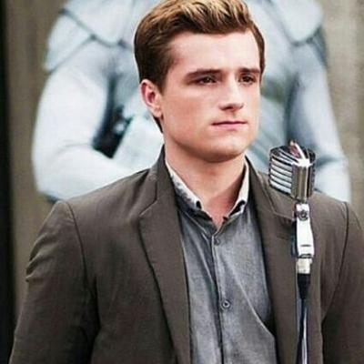 The Hunger Games wallpaper possibly with a business suit called Peeta Mellark