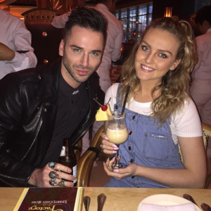 Perrie and Aaron