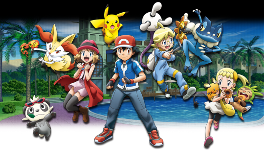 Pokemon Bilder Pokemon Movie X Y 18 Hintergrund And Background Fotos