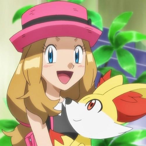 Pokemon Serena Fennekin Photo