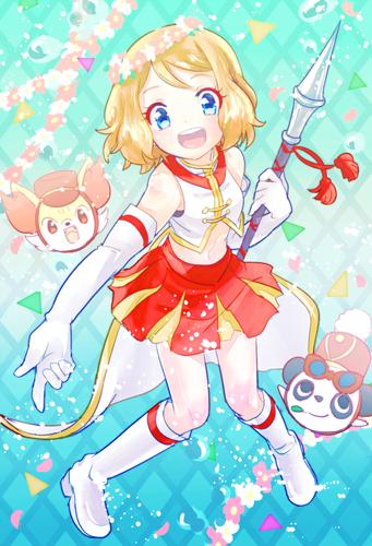 Pokemon Serena Fanart