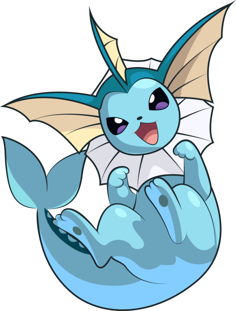 Pokemon - Vaporeon.