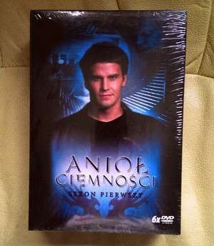 Polish edition of Энджел season 1 ~ just bought it ♥