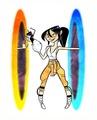 Portal - Chell - portal-the-game fan art