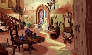 Rapunzel Concept Art