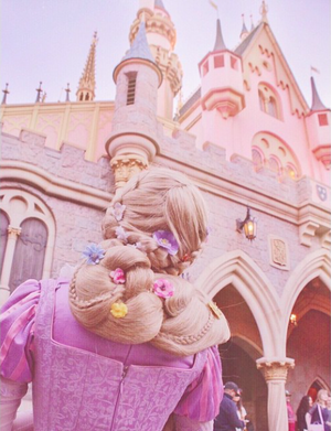 Rapunzel at Disneyland