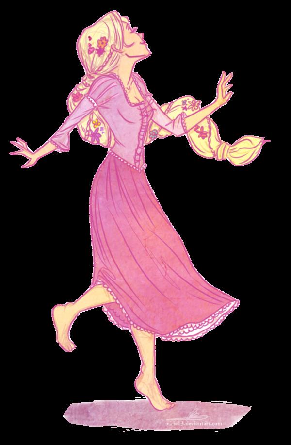 Rapunzel sejak Viria