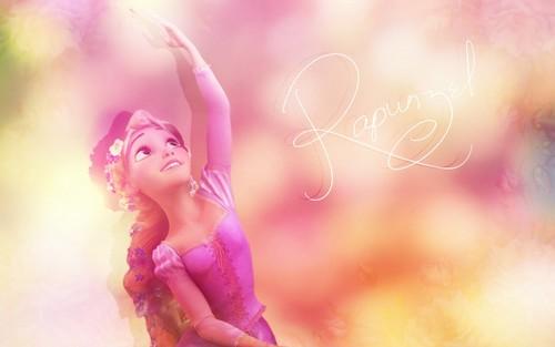 Disney Princess afbeeldingen Rapunzel achtergrond HD