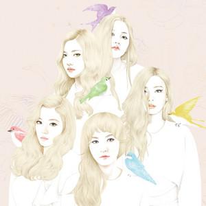 Red Velvet's First Mini Album 'ICE CREAM CAKE' Cover