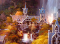 Rivendell Artwork - lord-of-the-rings photo