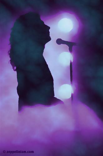 Led Zeppelin wallpaper entitled Rock God on Stage