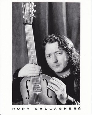 Rory Gallagher publicity 사진 (1991)