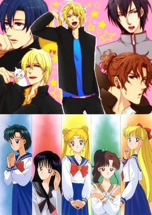 Sailor Moon as bishonen!
