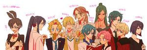 Sailor Moon gender swap