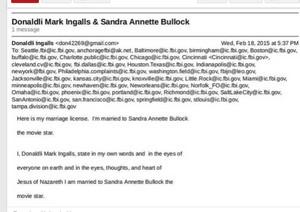 Sandra Bullock Marriage License