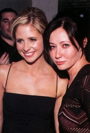 Sarah Michelle & Shannen Doherty ♥
