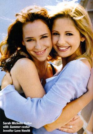 Sarah Michelle & Jennifer Liebe Hewitt ♥