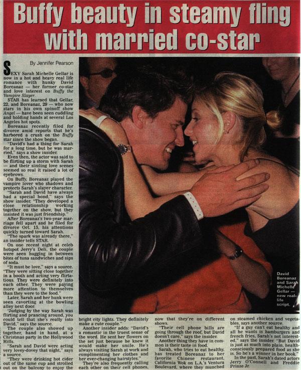 Sarah & David Article ♥