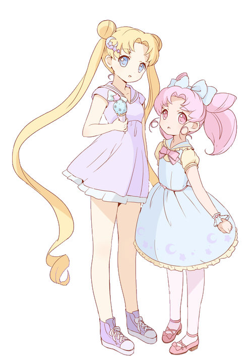 Serena and Rini
