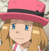 Serena funny face