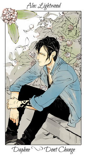 Shadowhunter Flowers - Alec Lightwood