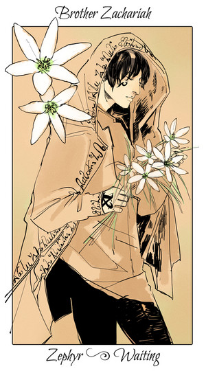 Shadowhunter Flowers - Brother Zacariah