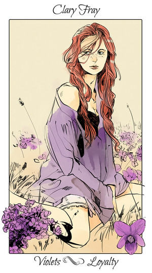 Shadowhunter Цветы - Clary Fray