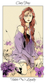 Shadowhunter Flowers - Clary Fray
