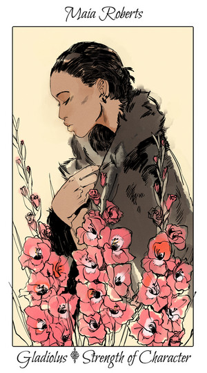 Shadowhunter Flowers - Maia Roberts