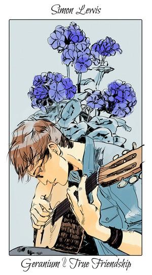 Shadowhunter Цветы - Simon Lewis