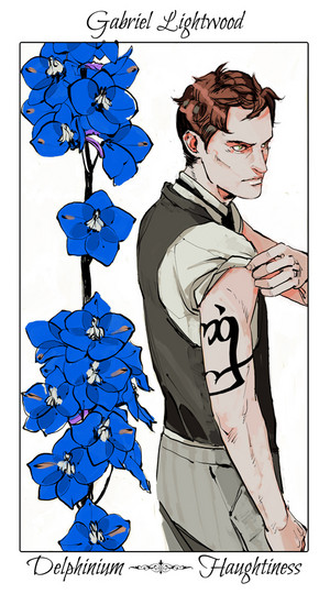 Shadowhunter fleurs - The Infernal Devices