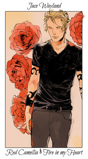 Shadowhunter Flowers - The Mortal Instruments