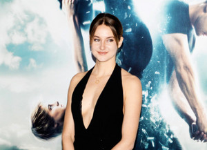 Shailene Woodley attends 'The Divergent Series: Insurgent' New York premiere at Ziegfeld Theater