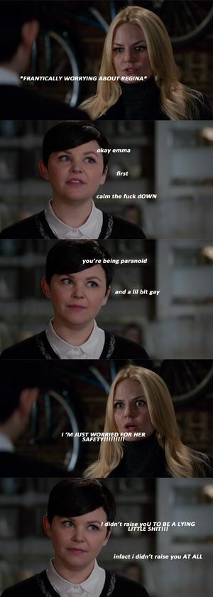 Snow White knows
