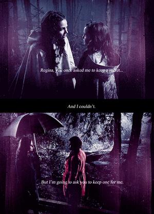 Snow and Regina