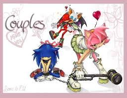 Sonic Couples (Warning, may make your eyes bleed)
