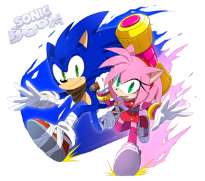 sonic y amy