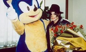 Sonic and Michael Jackson