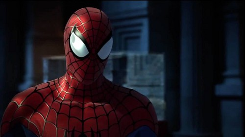 Spider-Man achtergrond titled Spider-Man - Shattered Dimensions