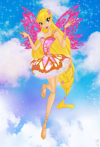 The Winx Club wallpaper titled Stella Butterflyix