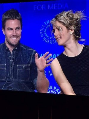 Stephen and Emily - Paleyfest 2015