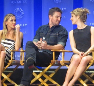 Stephen and Emily being adorable