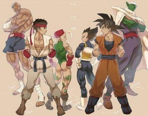 রাস্তা Fighter vs Dragon Ball Z heights