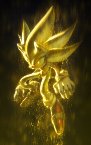 刺猬索尼克 壁纸 entitled Super Sonic Ultra <3