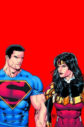 Superman Hintergrund with Anime called Superman - Post Convergence
