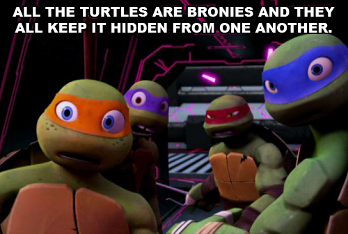 Teenage Mutant Ninja Turtles Wallpaper Possibly Containing Anime Entitled TMNT 2012 Headcanons