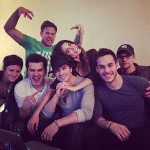 TVD Cast and Nikki Reed