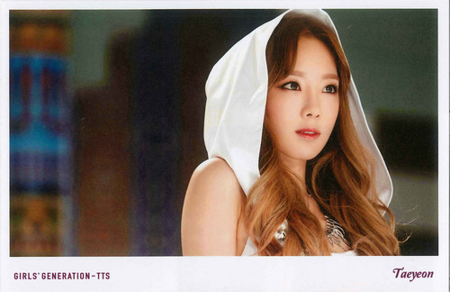 Girls Generation/SNSD wallpaper with a portrait entitled TaeTiSeo Taeyeon- Holler Polaroids